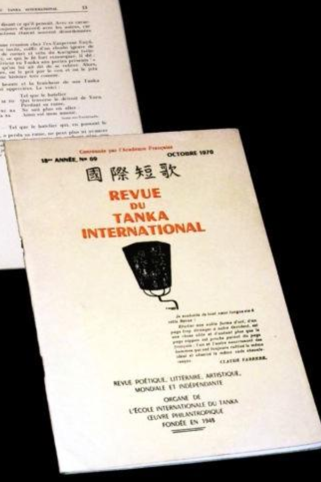 Revue Internationale du tanka